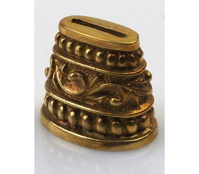 Притин для шампура овальный №663 (18 мм) - мельхиор, латунь